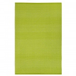 Zen Green and White Outdoor Rug