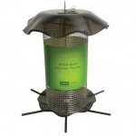 Smokey Acrylic 3 Quart Sunflower Forever Feeder