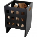 Fire Basket-Powder Coated Sheet Metal- Square