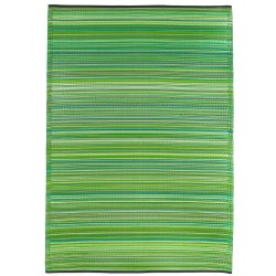 Cancun Green Outdoor Mat