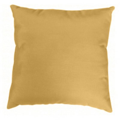 Wheat Knife Edge Sunbrella Outdoor Pillow