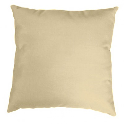 Antique Beige Knife Edge Sunbrella Outdoor Pillow