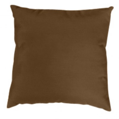 Cocoa Knife Edge Sunbrella Outdoor Pillow