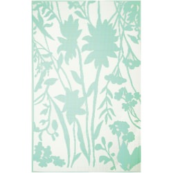 Mint Bellingrath Outdoor Mat