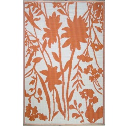 Salmon Bellingrath Outdoor Mat