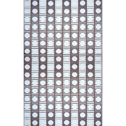 Dots Chocolate Outdoor Mat