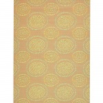 Molly Salmon Outdoor Mat 5ft x 8ft