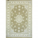 Oriental Floral Light Umber Outdoor Mat