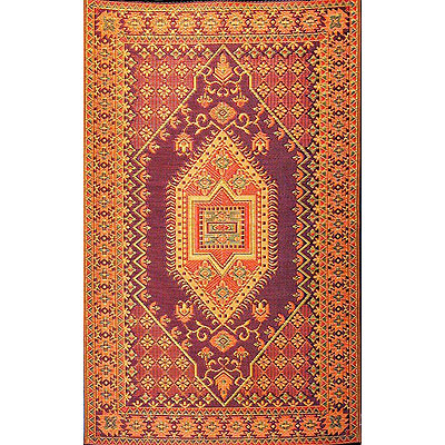 Oriental Turkish Rust Outdoor Mat
