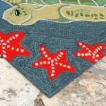 Frontporch Sea Turtle Outdoor Rug