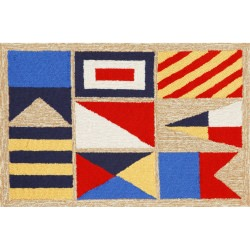 Frontporch Signal Flags Outdoor Rug