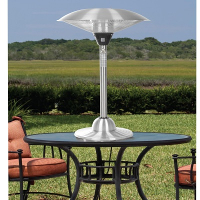 Stainless Steel Table Top Halogen Patio Heater