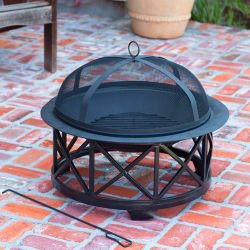 30 in Decorative Portsmouth Fire Pit