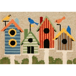 Frontporch Birdhouses Outdoor Rug