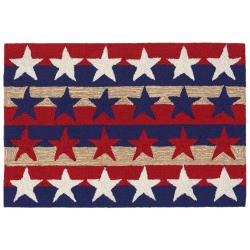 Frontporch Stars and Stripes Amaricana Outdoor Rug
