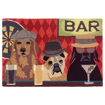 Frontporch Bar Patrol Port Outdoor Rug