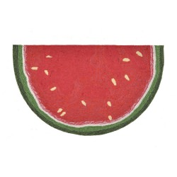 Watermelon Slice Red Front Porch Outdoor Rug