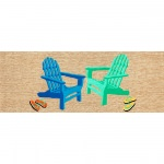 Frontporch Seaside Adirondack Chairs Outdoor Rug