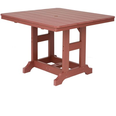 44in Square Counter Height Table