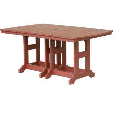 44in x 72in Rectangular Dining Height Table