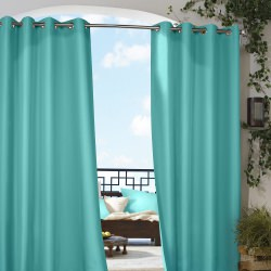 Aqua Gazebo Polyester Outdoor Curtain