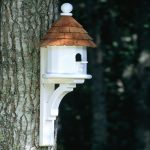 Small Shingled Bird House