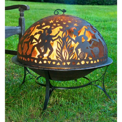 Good Directions Medium Complete Full Moon Party FireDome Fire Pit