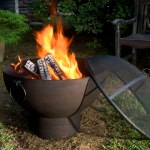 26 in Fire Bowl with Spark Screen