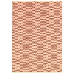 Grand Cayman George Town Ivory and Terracotta Outdoor Rug