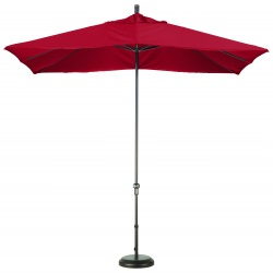 11 Ft California Umbrella Sunbrella fabric Rectangular Canopy