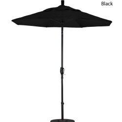 7.5ft. Market Umbrella Push Tilt Available in 9 Colors