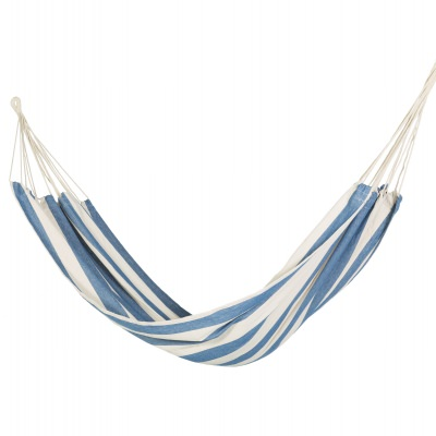 Brazilian Inspired Fabric Hammock - Nautical Stripe