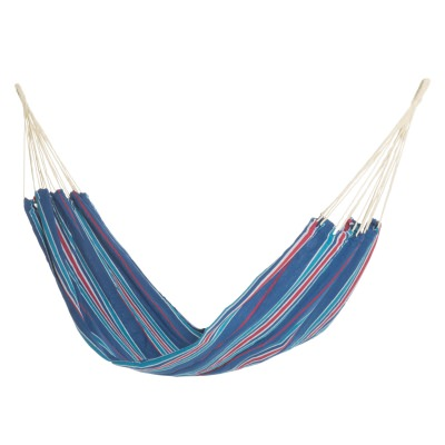 Brazilian Inspired Fabric Hammock - Marine