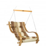 Single Swing With Oak Arms - Rio Birch Stripe