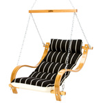 Single Swing With Oak Arms - Classic Black Stripe