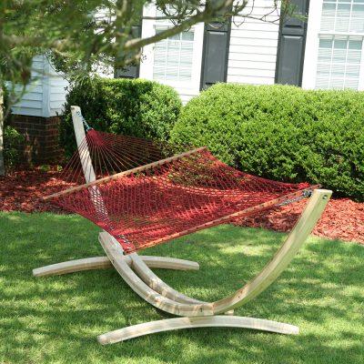 deluxe duracord rope hammock   gar  hatteras hammocks   fabric  u0026 rope hammocks   dfohome  rh   dfohome