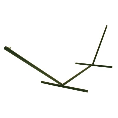 15 ft.Tri-Beam Steel Hammock Stand with Right Connection Design and Cape Shield Powder Coating - Forest Green