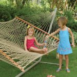 DuraCord Rope Hammock with Metal Stand