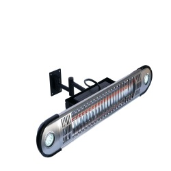 Wall Mount Electric Infrared Heater with Remote Control