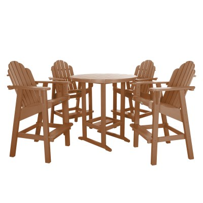 5 Piece Essentials High Dining Set