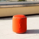 Outdoor Sunbrella Bean Bag Footstool