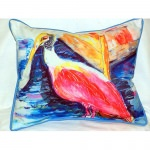 Spoonbill Outdoor Pillow