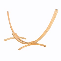 15 ft. Larch Wooden Arc Hammock Stand
