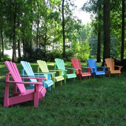 Classic Adirondack Chair - Painted
