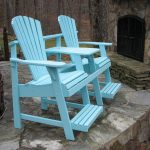 Adirondack Balcony/Pub Double Seater with Tete-a-Tete - Painted