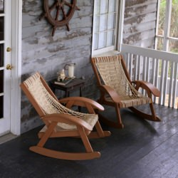 Coastal Cedar DuraCord Rocker