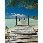 Island Way It Doesn't Get Any Better 30x40 Inch Outdoor Canvas Art