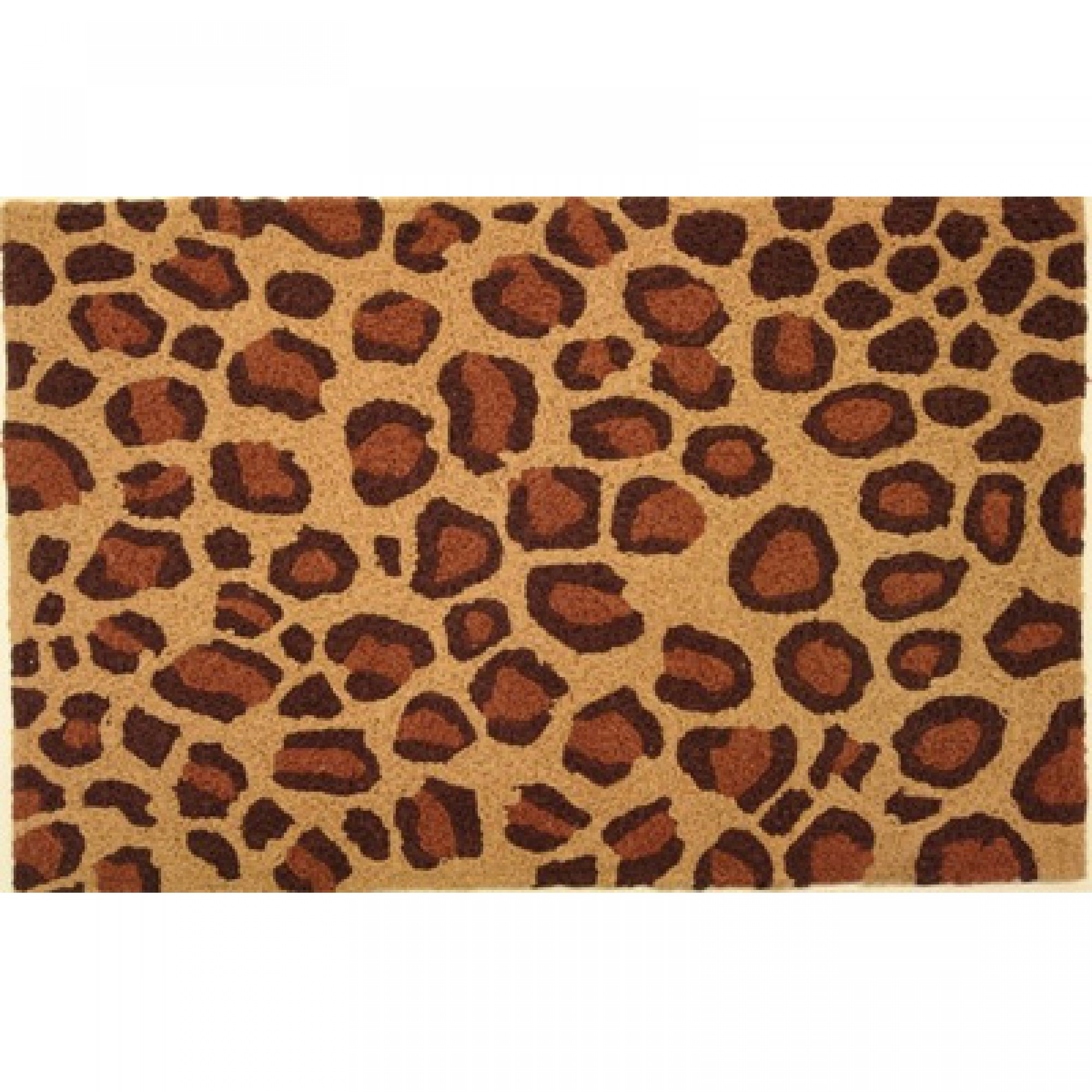 tufted x overstock home hand wool cheetah print indo garden shipping leopard rug today herat oriental free product