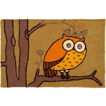 Jellybean Awesome Owl Outdoor Door Mat