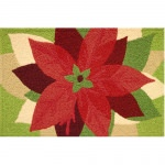 Jellybean Poinsetta Outdoor Door Mat